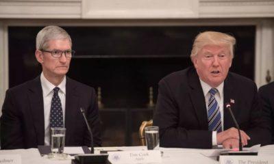 Tim Cook เตือน Trump นโยบายภาษีใหม่กับจีน จะกระทบ Apple ขณะที่ Samsung อยู่สบาย | Tadoo