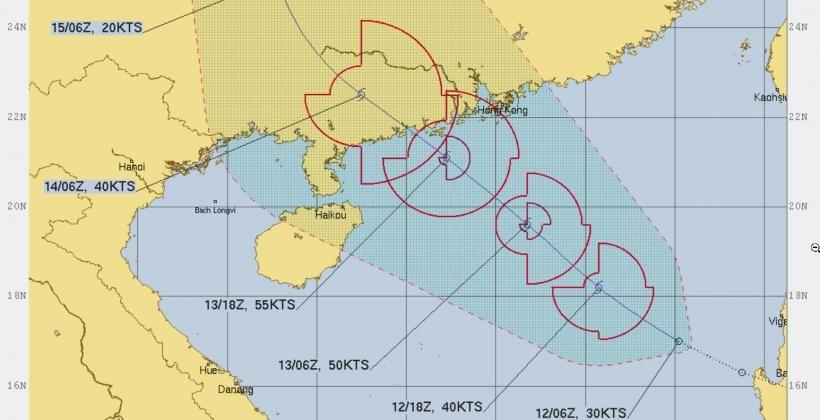 """กรมอุตุฯ ประกาศแจ้งเตือน 13-16 มิ.ย. พายุโซนร้อน """"นูรี"""" กระทบไทย   Tadoo"""