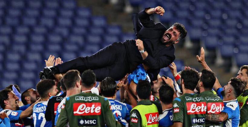 โด้ซึม-แชมป์แรกกั๊ตจัง ! นาโปลี แม่นโทษดับ ยูเว่ 4-2 คว้าแชมป์ โคปปา อิตาเลีย | Tadoo