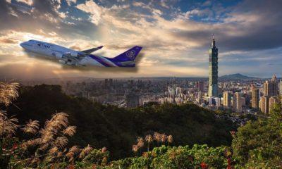 การบินไทยเปิดไฟลท์กรุงเทพ-ไทเป(ไต้หวัน) 5 ส.ค. จองเลย! | Tadoo