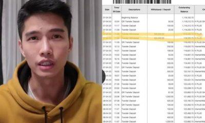 เพจแฉเส้นทางการเงิน ฌอน โอนเข้าบัญชีตัวเอง 1 ล้าน จ่ายบัตรเครดิต 2.6 แสน เอาไปทำอะไร?   Tadoo