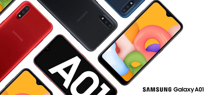Samsung A01 สมาร์ทโฟนรุ่นประหยัด มีกล้องคู่ ดีไซน์ล้ำยุค | Tadoo