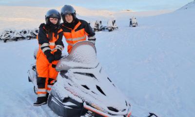 ฟลุค เกริกพล พาลี นาตาลี ซิ่งกลางหิมะ เสียวก้าวเดียวตกหน้าผา | Tadoo