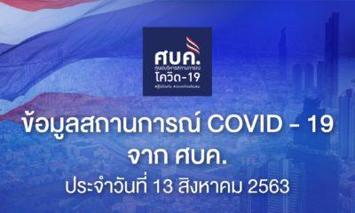 โควิด-19 14 ส.ค. ไทยพบผู้ติดเชื้อ 17 คน | Tadoo